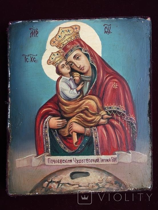 Икона Богородица Почаевская, фото №5