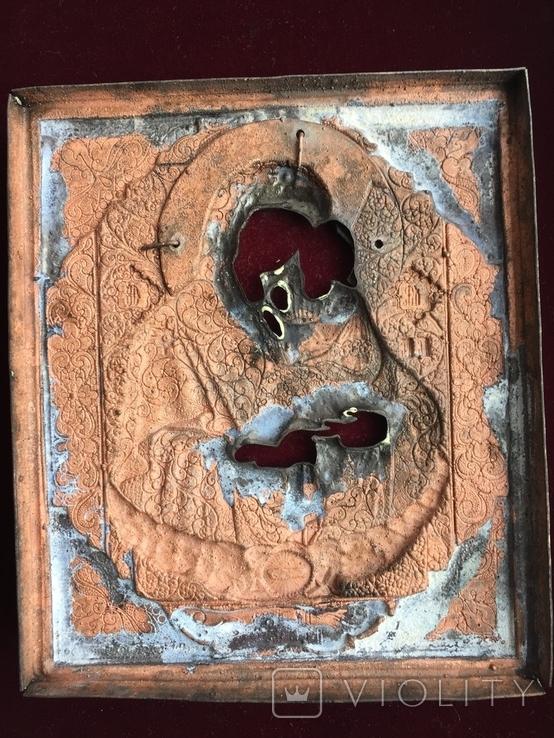 Икона Богородица Почаевская, фото №7