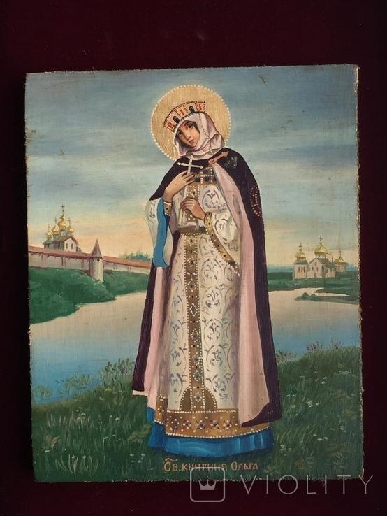 Икона Княгиня Ольга, фото №2