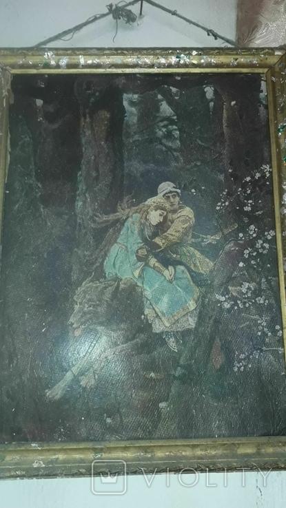 Картина Васнецова 1906года. Репродукция, фото №3