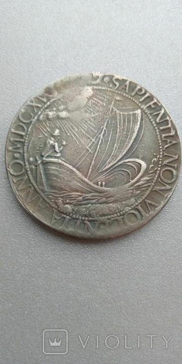 Талер 1617 года Нидерланды, копия брак, фото №3
