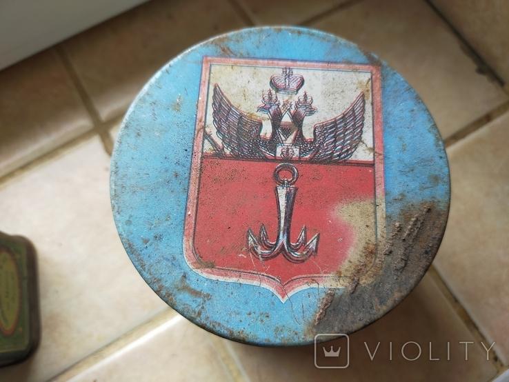 Жестяные коробки от чая. Грузинский чай и Одесса., фото №5