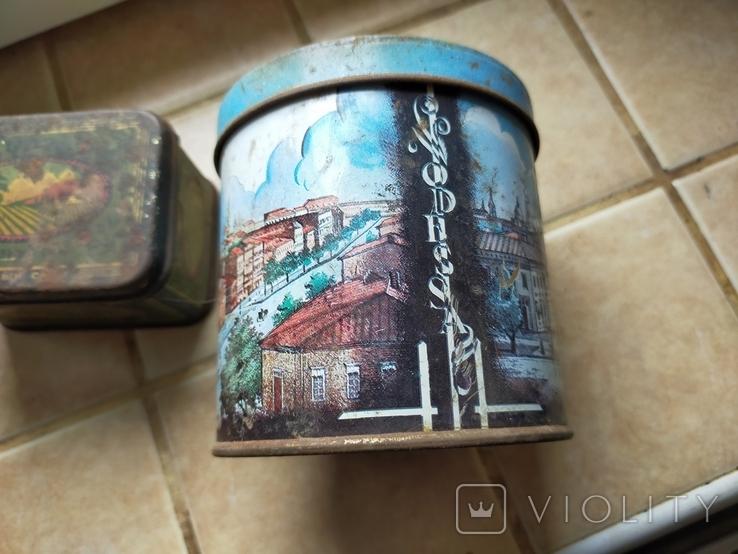 Жестяные коробки от чая. Грузинский чай и Одесса., фото №6