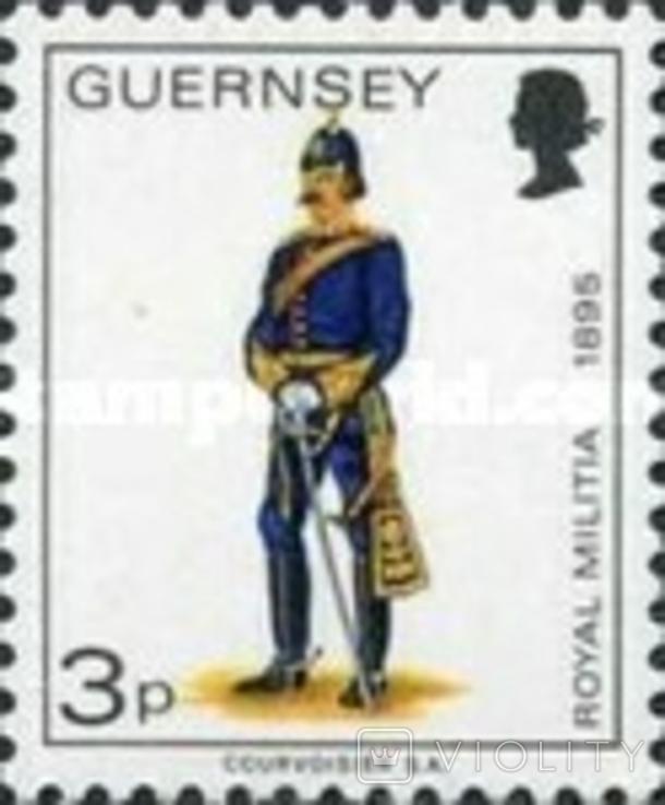 Гернси 1974 униформа
