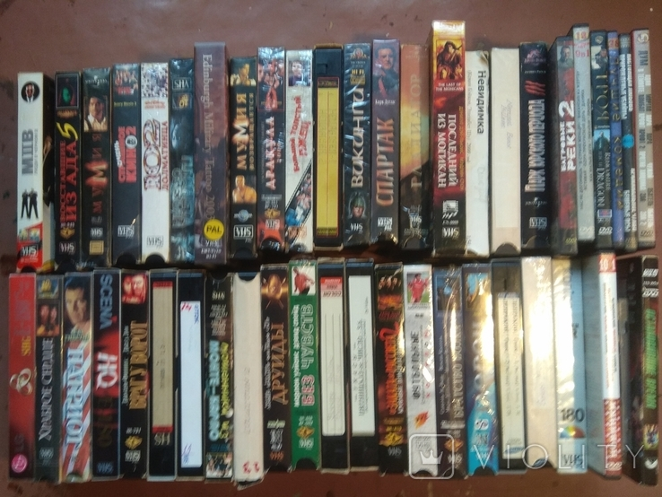 38 видеокассет+9двд дисков исторические и др.фильмы., фото №2