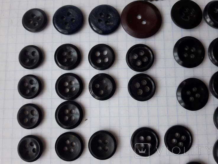 Пуговицы для амуниции разных периодов, 80 шт, фото №4