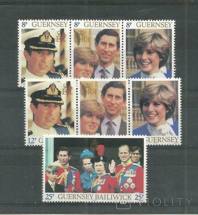 Гернси 1981 королевская свадьба