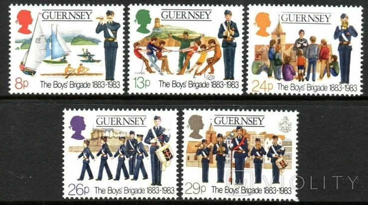 Гернси 1983 скауты