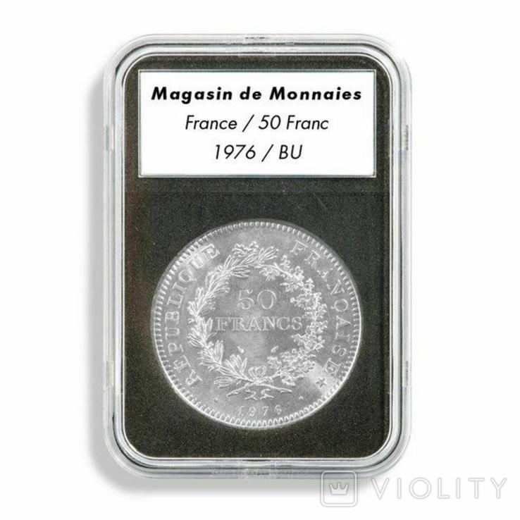 Слаб для монет внутренний диаметр 20 мм, SLAB20 Leuchtturm