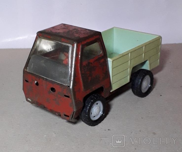 Машинка Грузовая длина 15 см. СССР ,Клеймо, фото №2