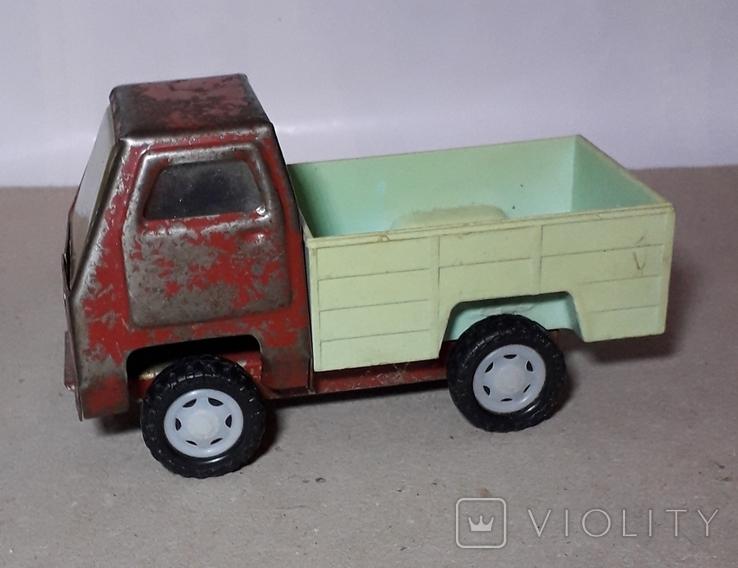 Машинка Грузовая длина 15 см. СССР ,Клеймо, фото №6