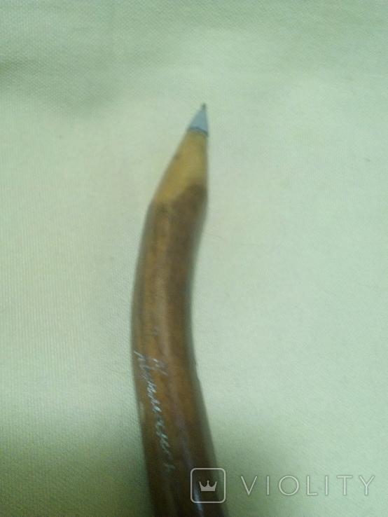 Ручка шариковая Мурманск. Кость., фото №4