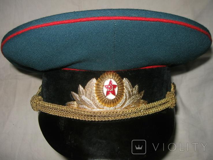 Фуражка офицера парадная., фото №9