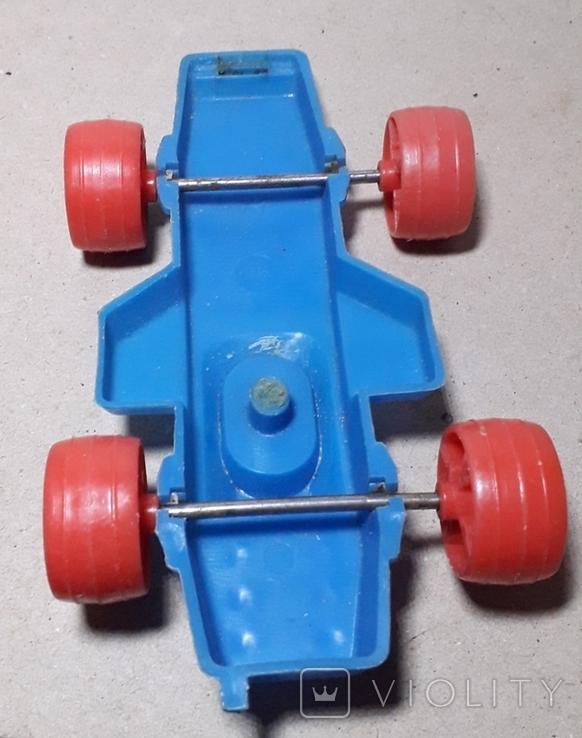 Машина гонка пластмасса СССР Клеймо,длина 15 см., фото №4