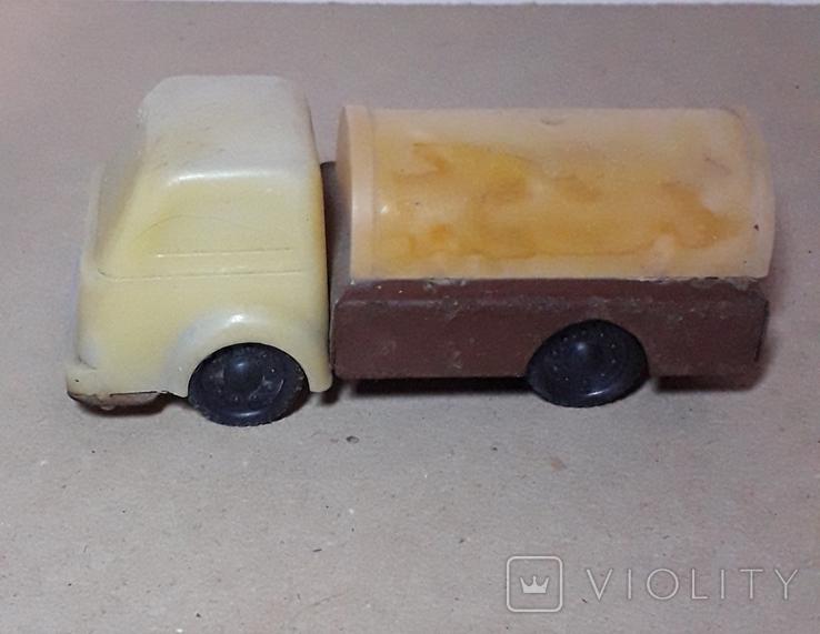 Машинка БОЧКА грузовая СССР, фото №2