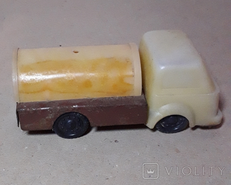 Машинка БОЧКА грузовая СССР, фото №3