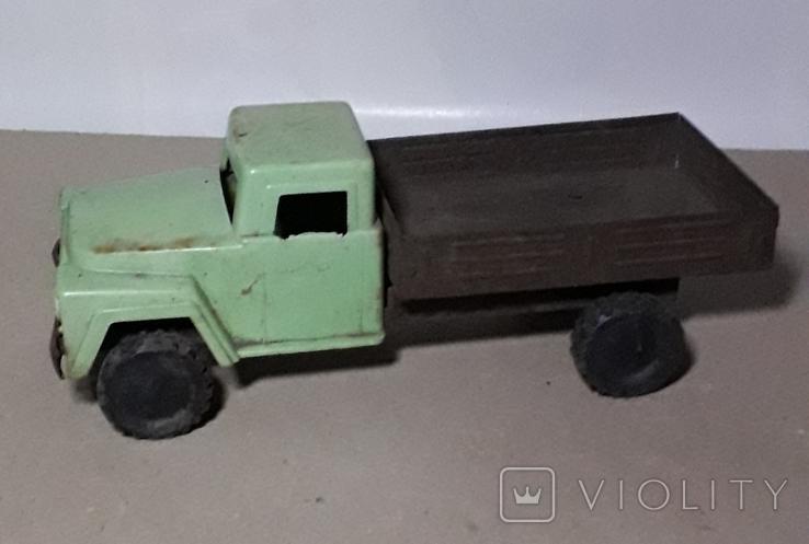 Машинка Грузовая ГАЗ из СССР длина 20 см., фото №3