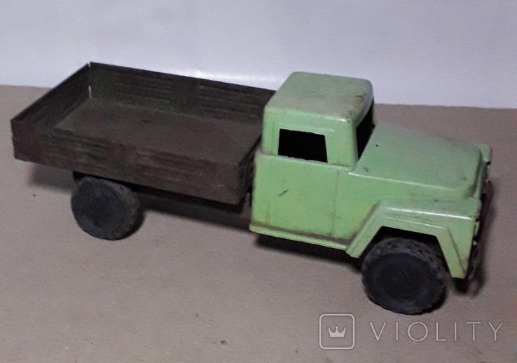 Машинка Грузовая ГАЗ из СССР длина 20 см., фото №4