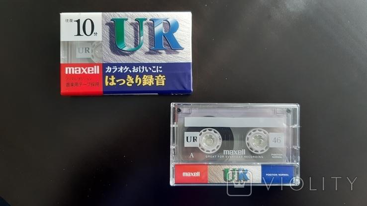 Касети Maxell UR 10, 46 (Release year: 2001), фото №2
