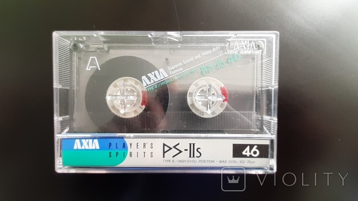 Касета Axia PS-IIs 46 (Release year: 1987)
