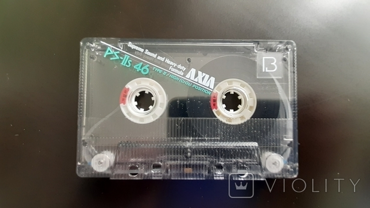 Касета Axia PS-IIs 46 (Release year: 1987), фото №5