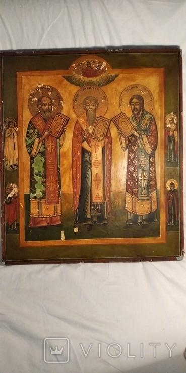 Икона трех святых, фото №3