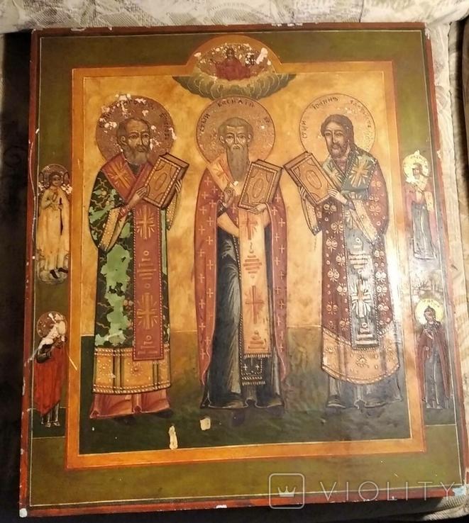 Икона трех святых, фото №6