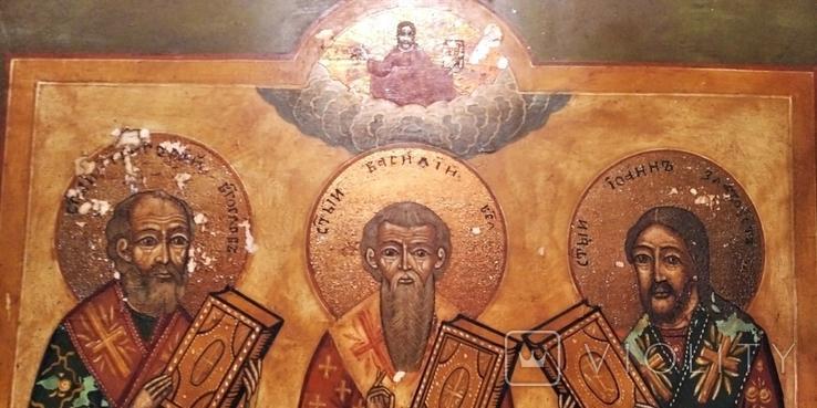 Икона трех святых, фото №7