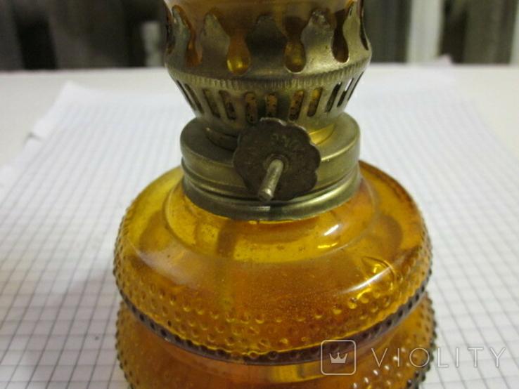 Керосиновая лампа из германии - Гонконг 12,5 см, фото №6