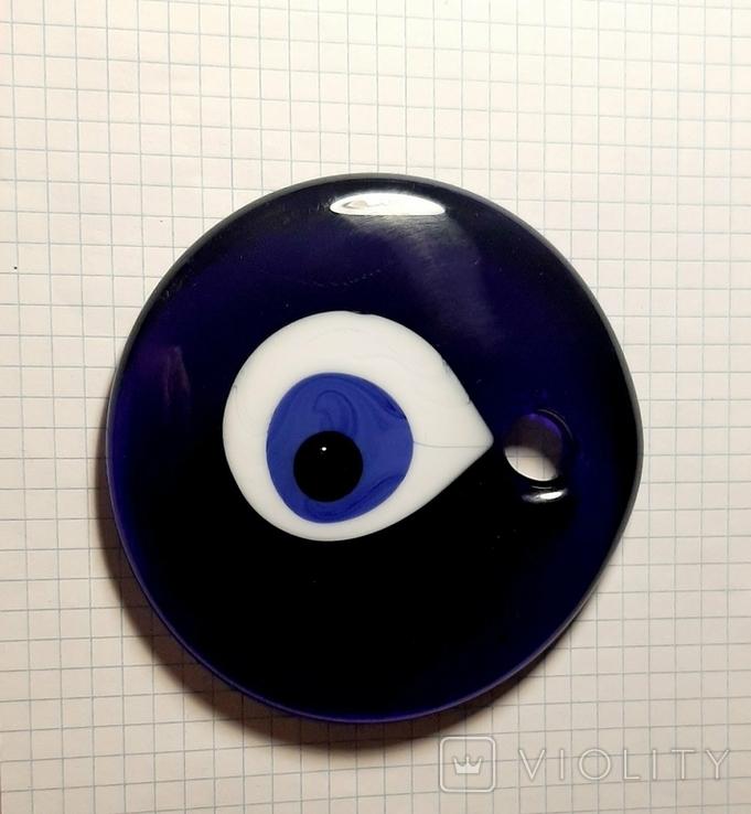 Глаз от сглаза, турецкий оберег Назар, глаз Фатимы, большой, фото №4