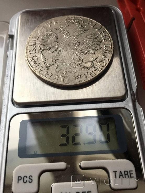 1 рубль 1705 копия, фото №2