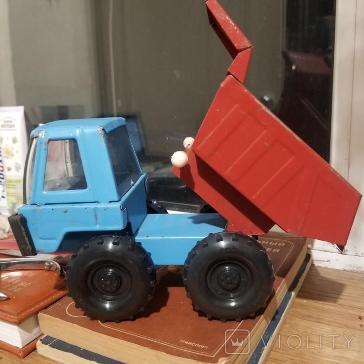 Грузовик трактор и паровоз, фото №5