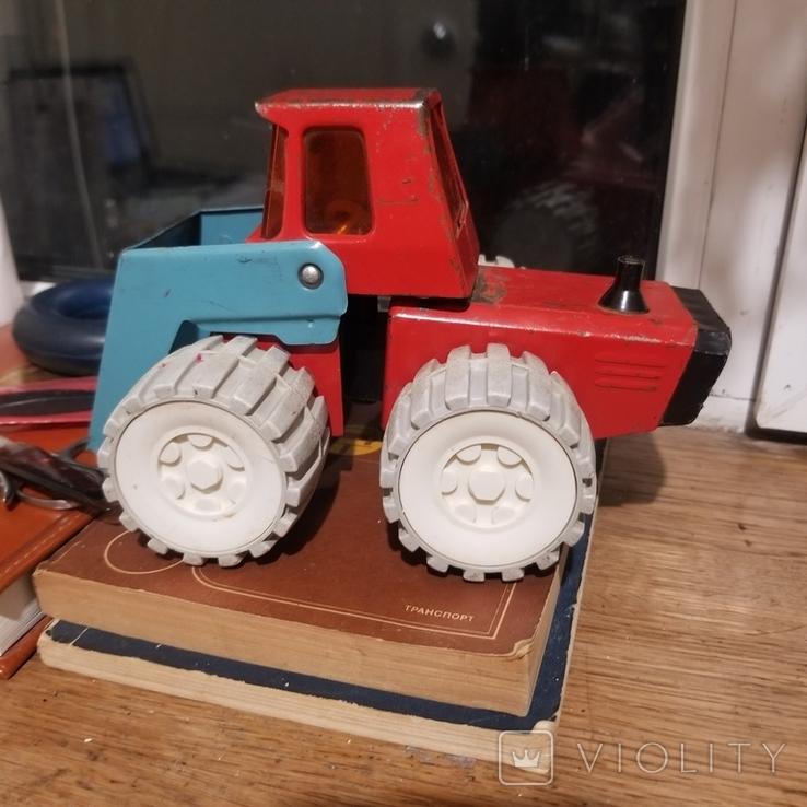 Грузовик трактор и паровоз, фото №7