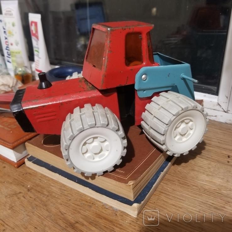 Грузовик трактор и паровоз, фото №8