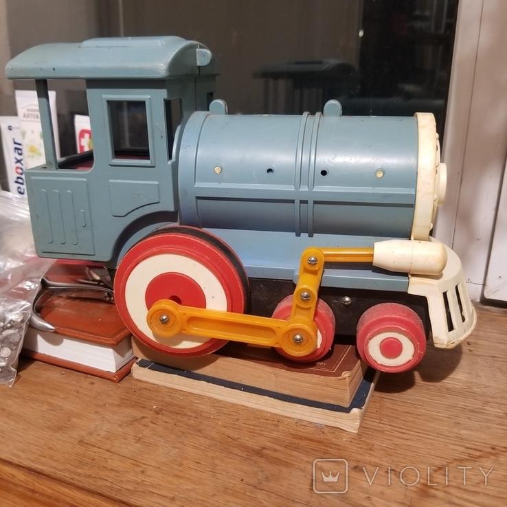 Грузовик трактор и паровоз, фото №10