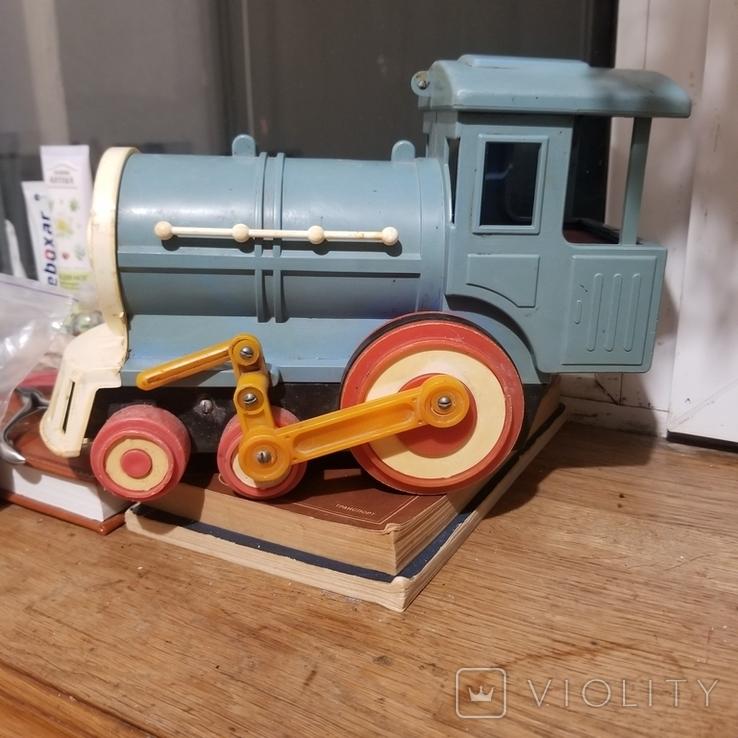 Грузовик трактор и паровоз, фото №12