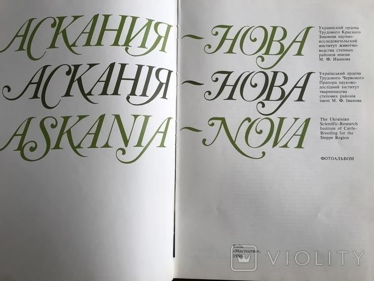 1986 Киев Херсон Аскания-Нова, фото №3