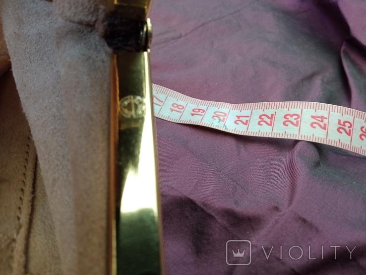 Сумочка клатч из варана, 40-50-е, фото №3