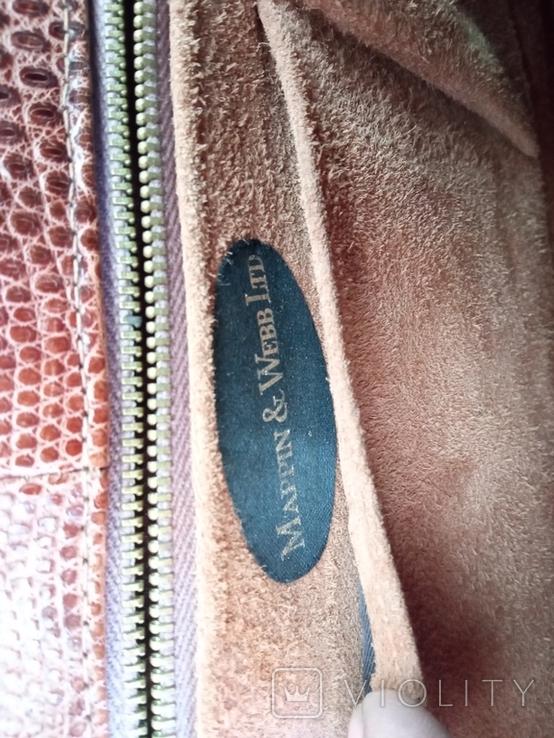 Сумочка клатч из варана, 40-50-е, фото №8