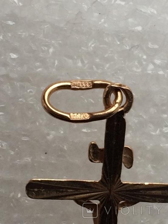 Крестик (золото), фото №6