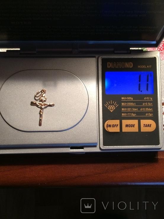 Крестик (золото), фото №7