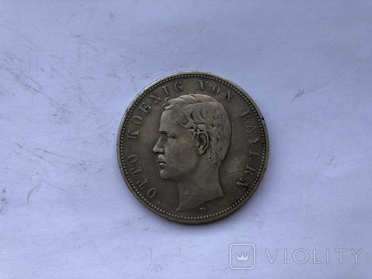 5 марок 1907 року, фото №2