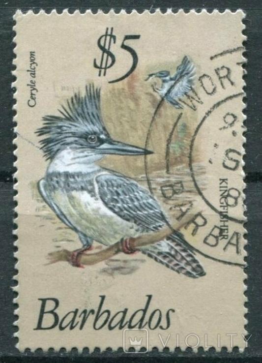 1979 Великобритания Колонии Барбадос Птицы 5S, фото №2