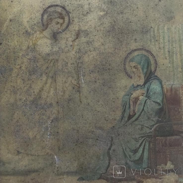 Благовещение Пр.Богородицы. 31х26,5см, фото №11