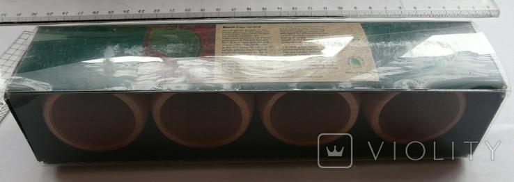 Набір кілець для серветок дерево Кольца для салфеток, фото №12