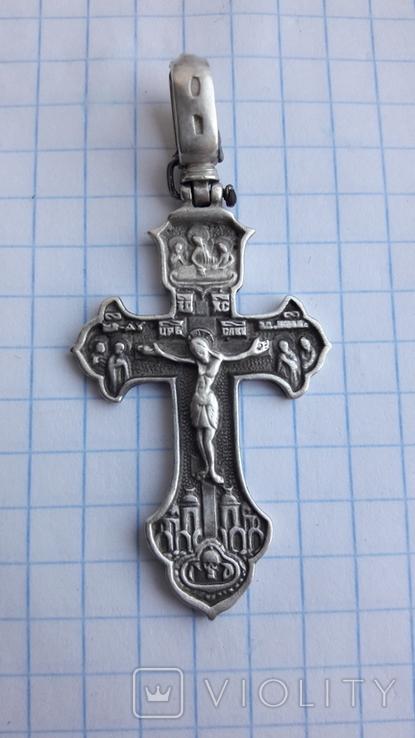 Серебряный крестик 925, фото №4