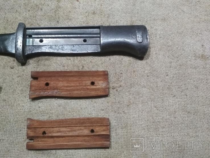 Накладки на штык нож К98 копия, фото №4