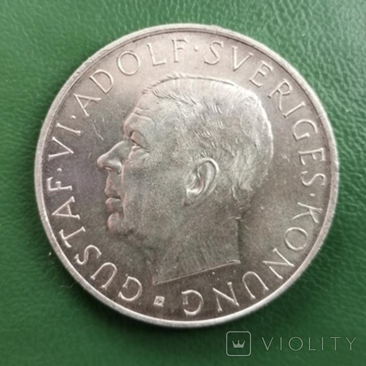 5 крон 1952 г. Швеция, фото №2