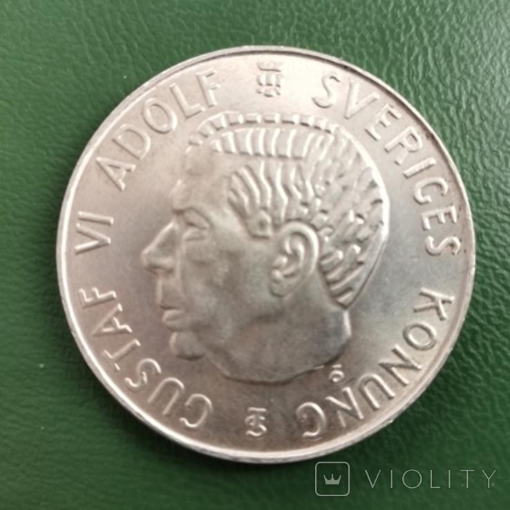 5 крон 1954 г. Швеция, фото №2