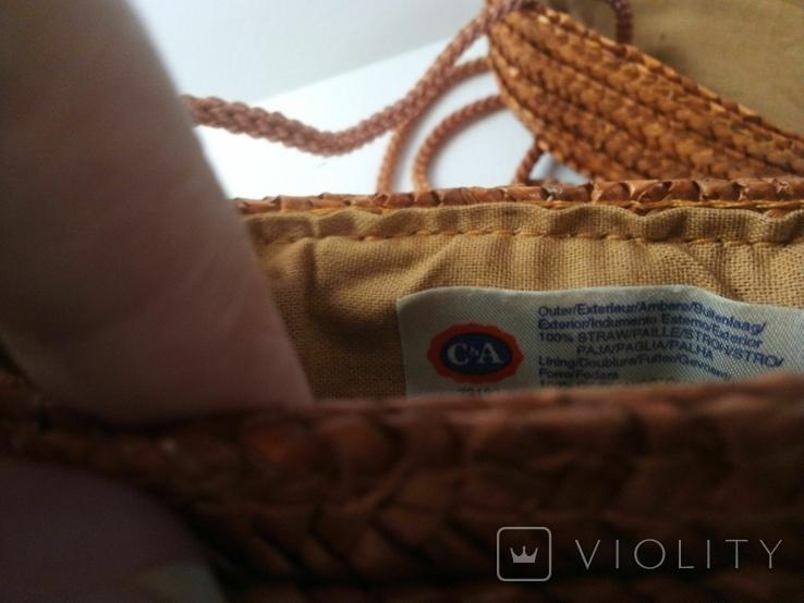 Плетёная сумка, фото №4